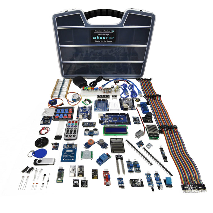 A&R Monster Arduino Starter Kit - The 2nd Largest Arduino Starter Kit on Earth