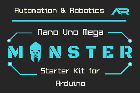 A&R Nano Uno Mega Monster Starter Kit for Arduino