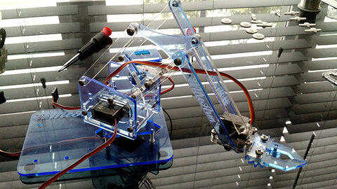 Arduino robot arm learning