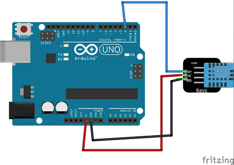 DHT11 Arduino Connection
