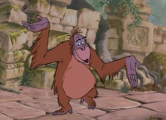 King Louie NASA Jungle Book