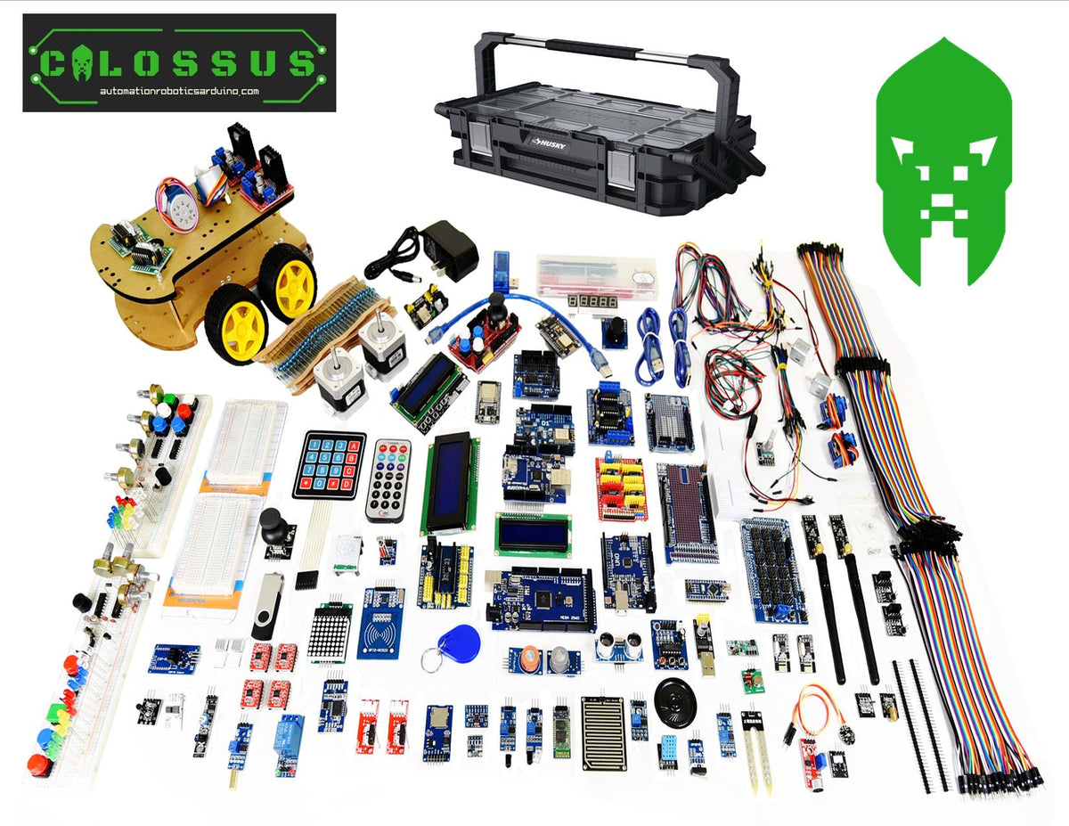 A&R Nano Uno Mega Colossus Starter kit for Arduino