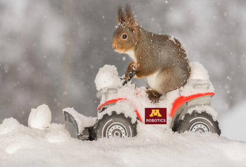 Minnesota robotics team snow squirrel