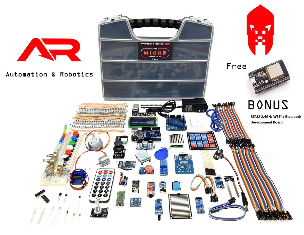 A&R Uno Micro Starter Kit for Arduino