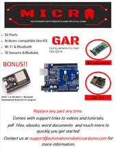 Load image into Gallery viewer, GAR Micro Starter Kit for Arduino