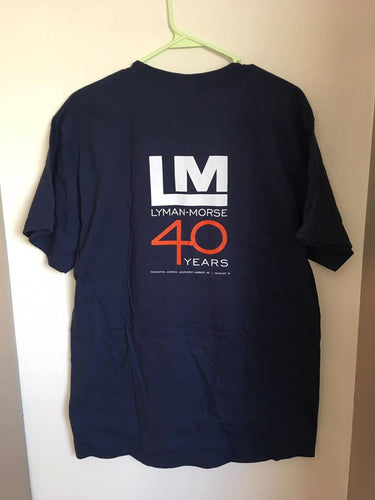 40th Anniversary Tee - Navy