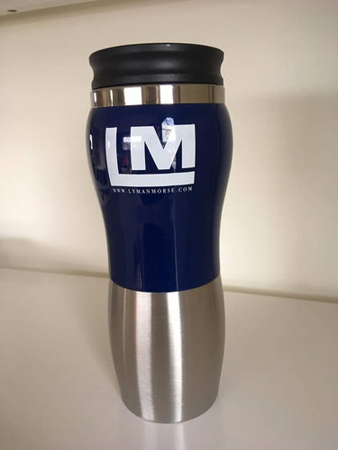 Lyman-Morse Travel Mug - Blue