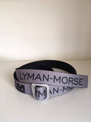 Lyman-Morse D-Ring Adjustable Belt AS - Dark Grey