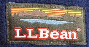 L.L. Bean Embroidered Fleece Jacket