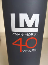 Load image into Gallery viewer, Lyman-Morse 40 Years Tumbler