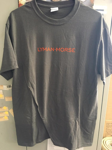 Logo Tee - Dark Gray/Orange