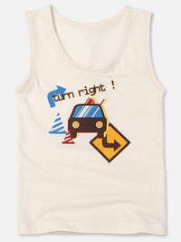 Toddler Boys Undershirt Tank Top - HiOrganic