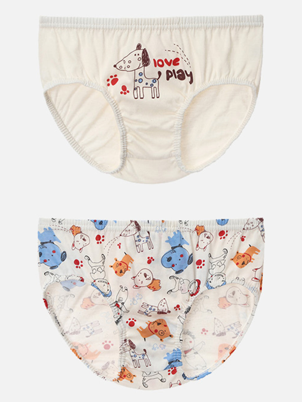 Toddler Boys Briefs 2 Pack - HiOrganic