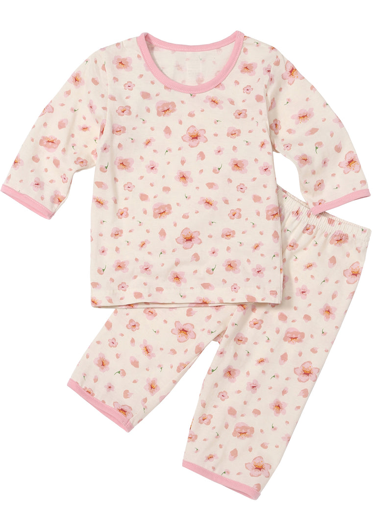Infant Toddler Two-Piece 3/4 Pajama Set - HiOrganic