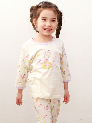 Infant Toddler Two-Piece 3/4 Pajama Set