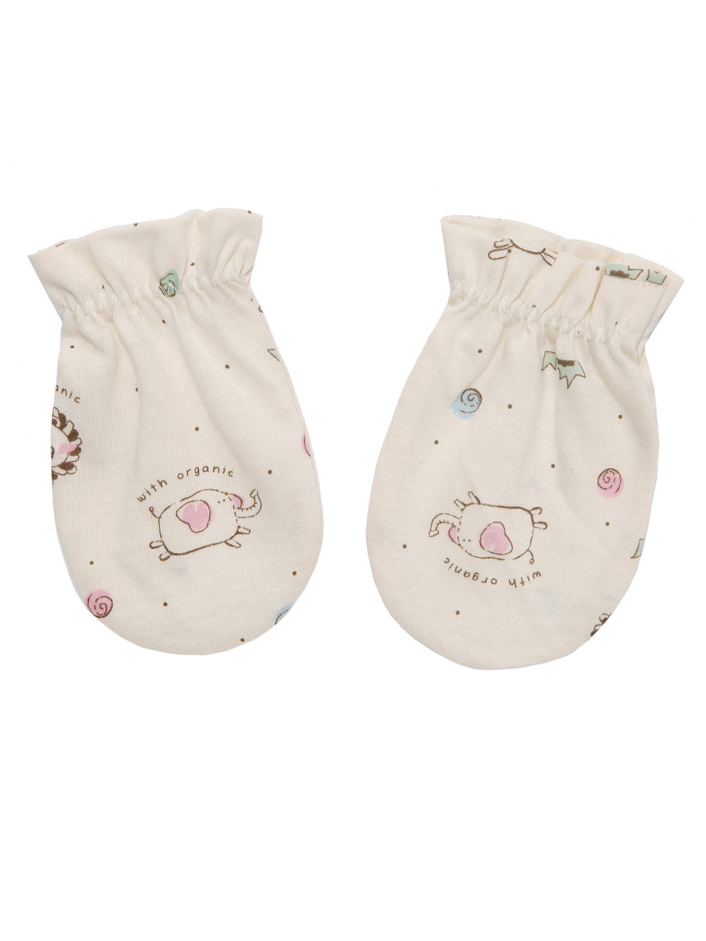 Newborn Infant Soft Mitten - HiOrganic