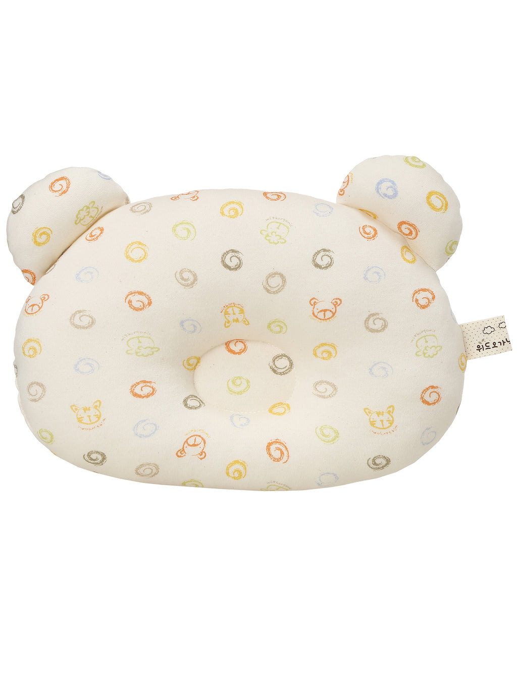 Infant Toddler Head Shaping Pillow for Sleeping - HiOrganic
