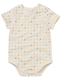 Infant Short Sleeve Snap Closure Bodysuit - HiOrganic