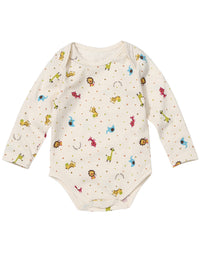 Infant Long Sleeve Snap Closure Bodysuit - HiOrganic