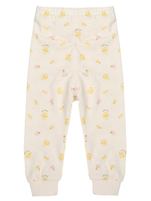 Infant Stretch Waist Long Pants - HiOrganic