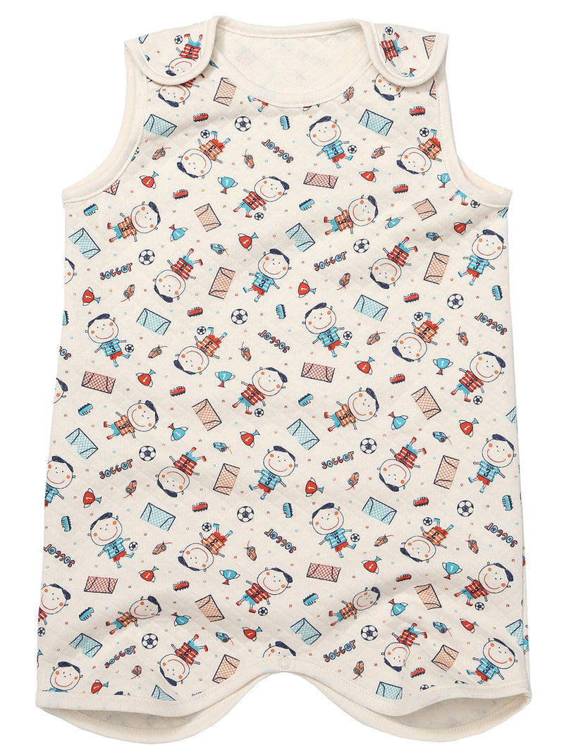 Toddlers Quilted Thermal Sleeping Vest - HiOrganic