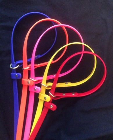 Custom Slip Leads, Palomine Lines, Biothane custom dog leashes, custom slip leash