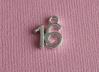 16th birthday charms