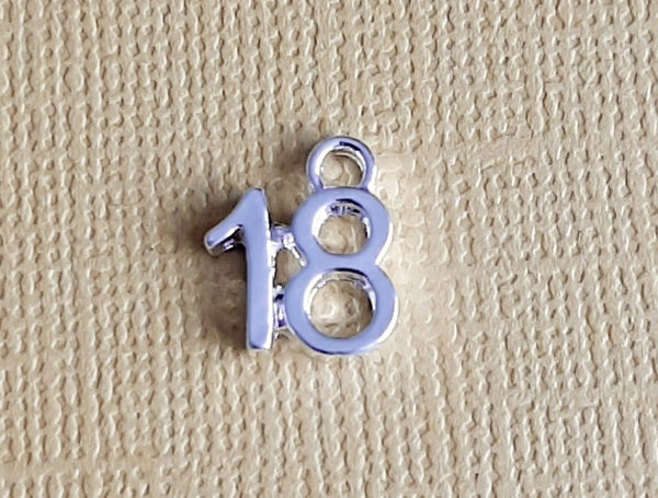 18th birthday charms