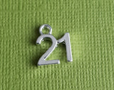 21st birthday charms