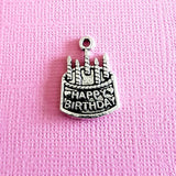 birthday cake charms