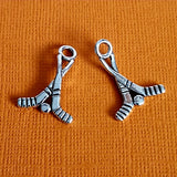 hockey sticks charms 3