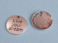 live your dream charms 3
