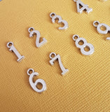 number charms set 2