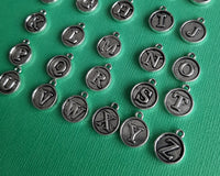 round letter charms 2