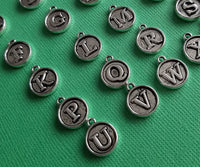 round letter charms 3