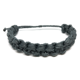 Image of Monster Knot Bracelet - charcoal