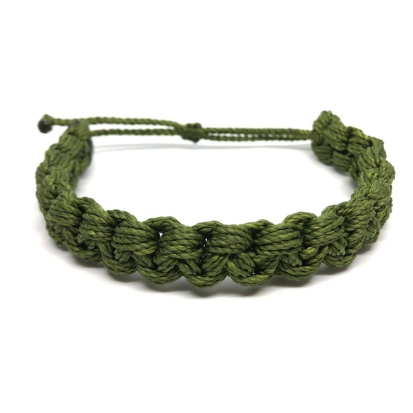 Image of Monster Knot Bracelet - green