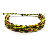 Image of Monster Knot Bracelet - yellow black green red