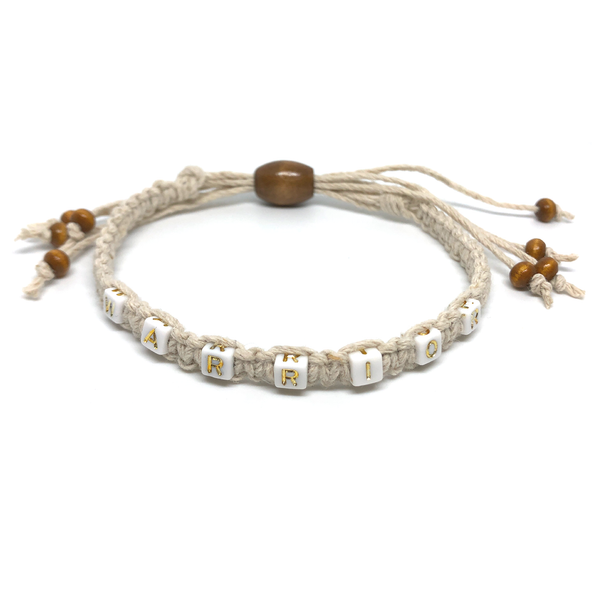 Single Hemp Bracelet - Warrior