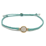 Gemstone Bracelet - Mini Moon - Mint