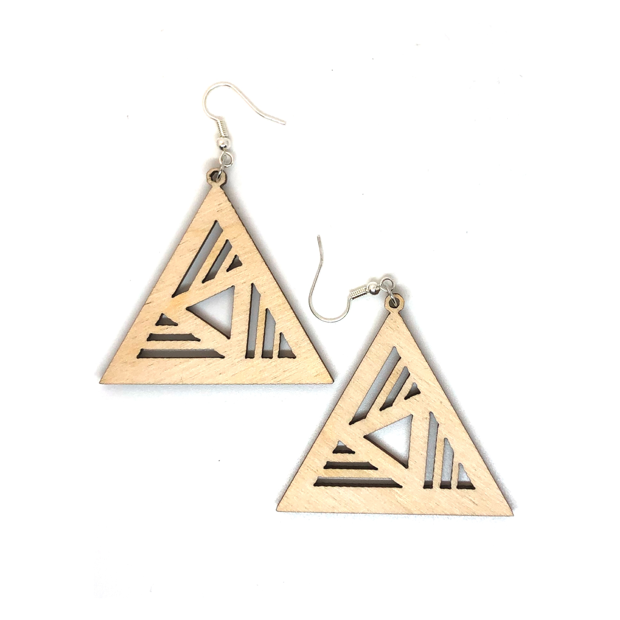 Trigeo Wood - Earrings