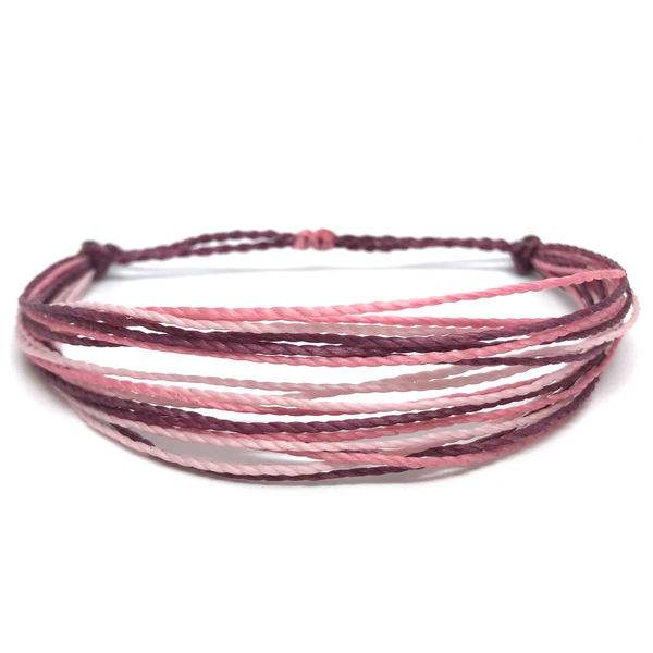 Simple String Bracelet - Bubblegum