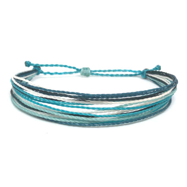Simple String Bracelet - Deep Sea