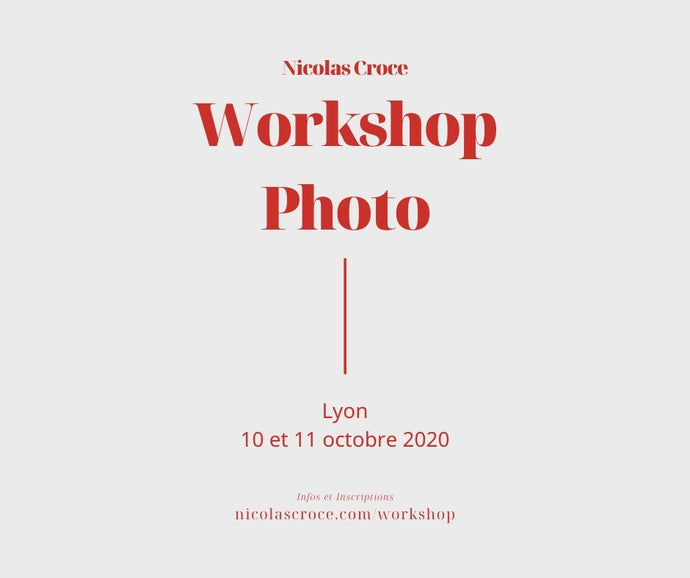 Workshop Photo Lyon Octobre 2020
