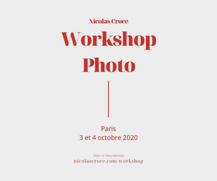 Workshop Photo Paris Octobre 2020