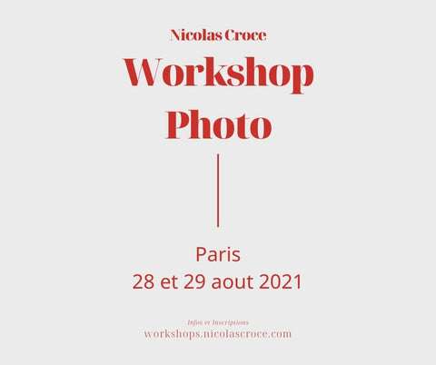 Workshop Photo Paris Aout 2021