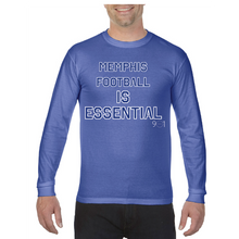 Load image into Gallery viewer, Memphis Football is Essential Longsleeve