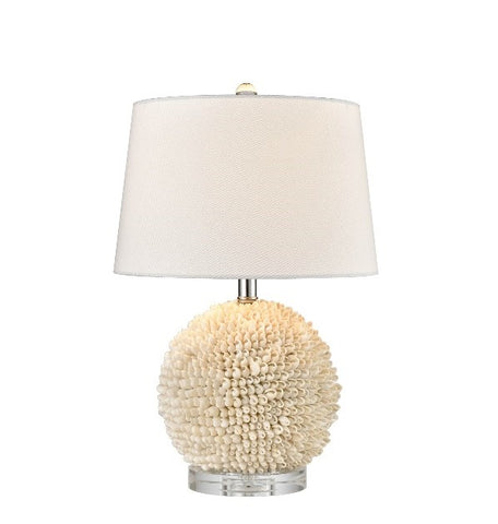 SHELLY TABLE LAMP WITH SHADE