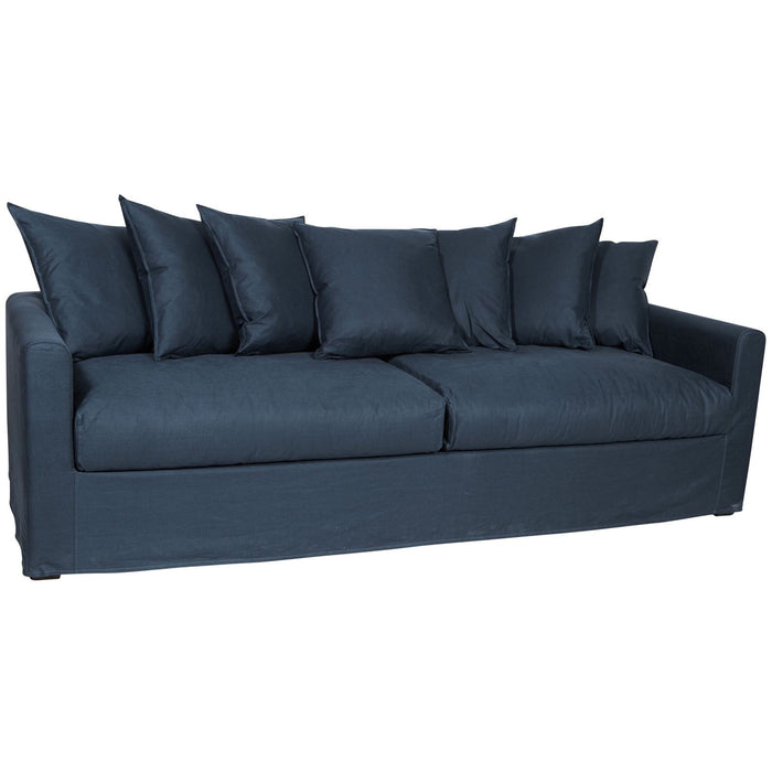 GROVE NEWPORT 3 SEATER SOFA IN NAVY