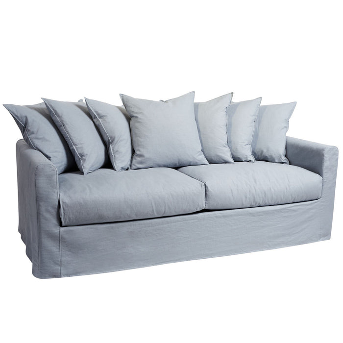 GROVE NEWPORT 3 SEATER SOFA IN SKY BLUE